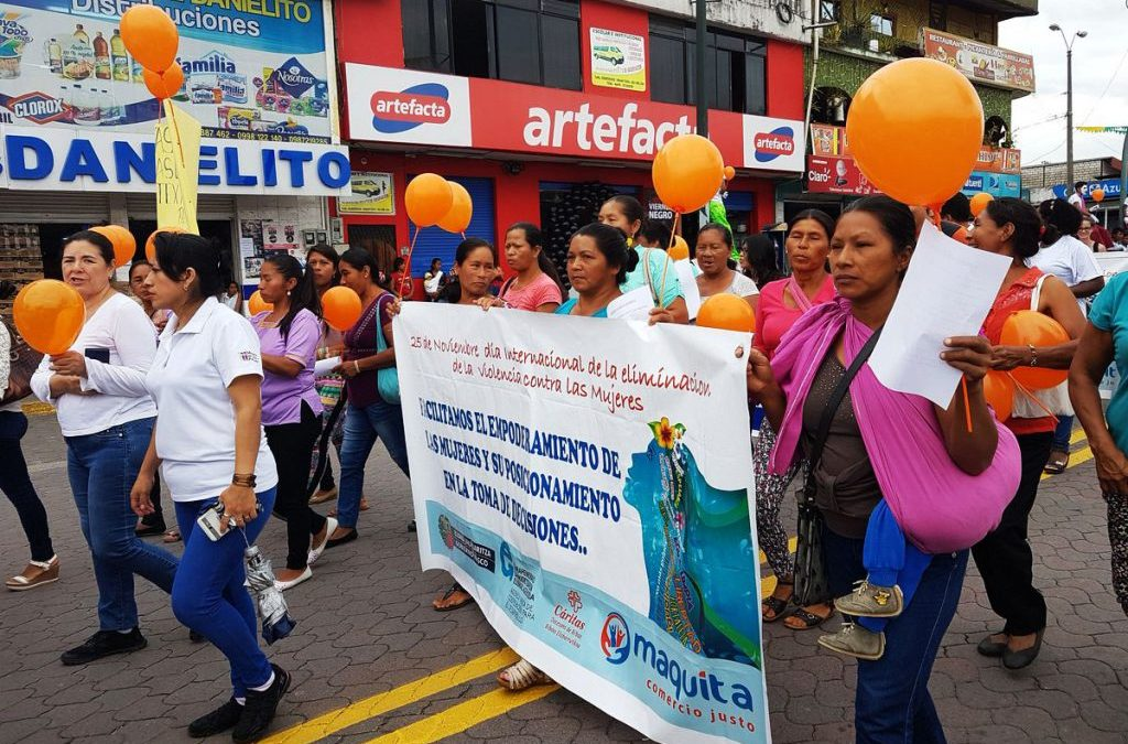 Organizaciones participan en eventos en contra de la violencia a la Mujer