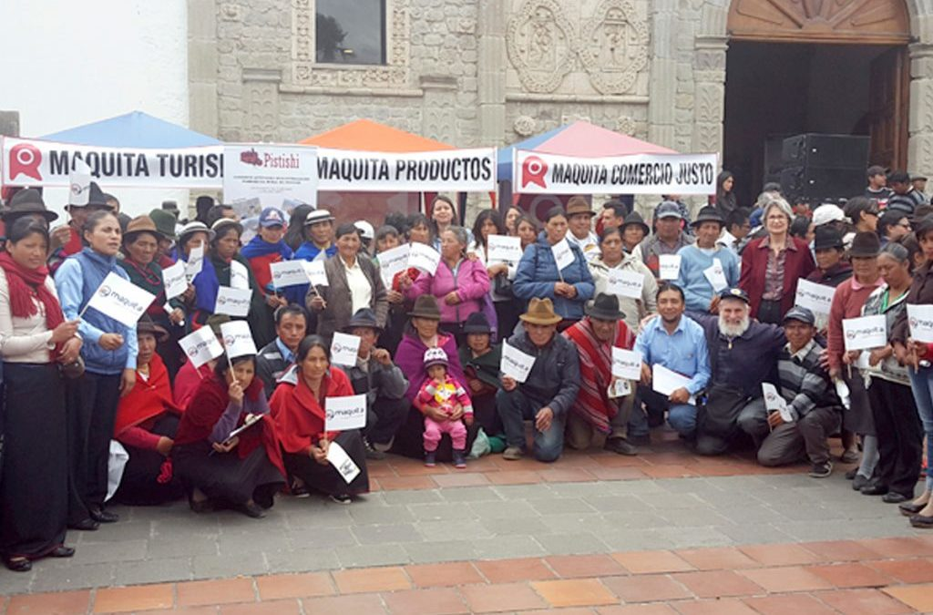 Maquita participa en Día Mundial de Comercio Justo