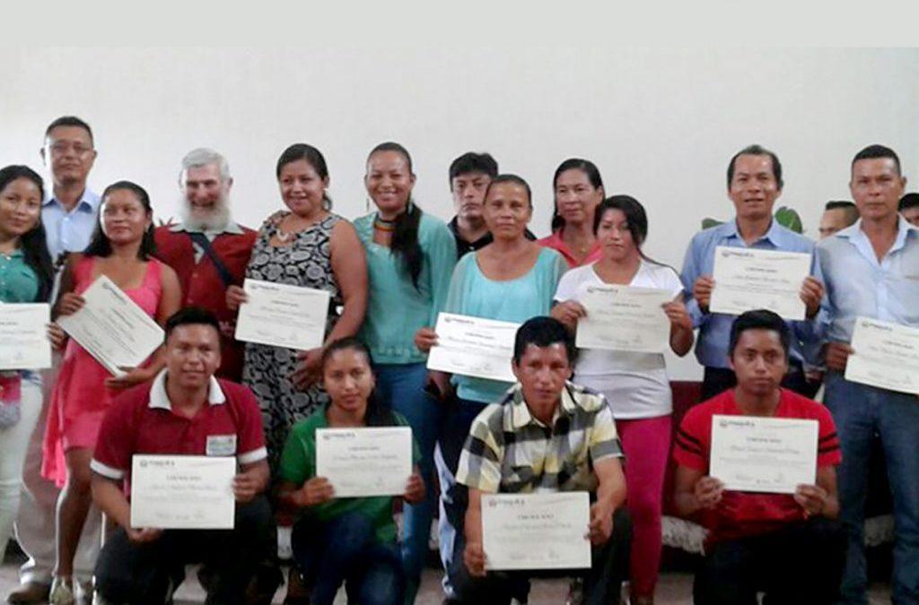 Graduación de las y los estudiantes de las Escuelas de gestión por competencias de Economía Social y Solidaria